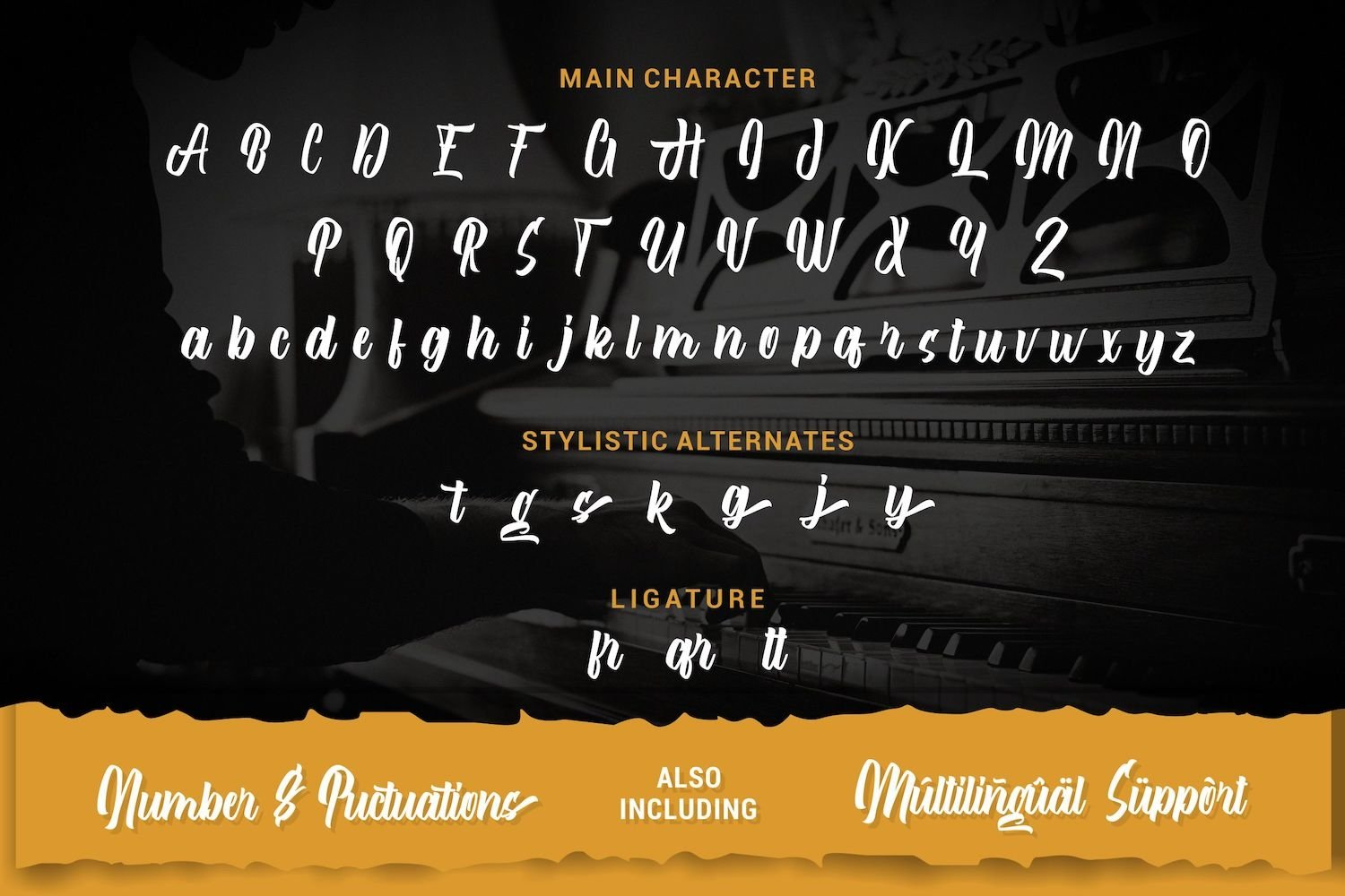 After Breaking - Modern Script Font example image 13
