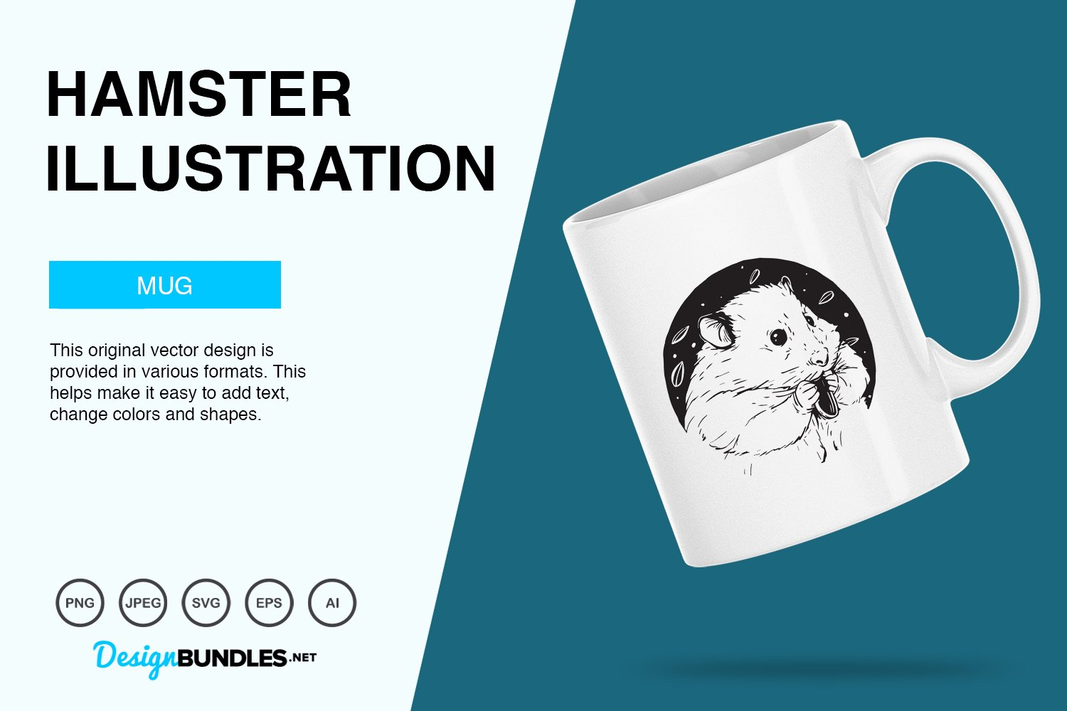 Hamster Vector Illustration example image 3