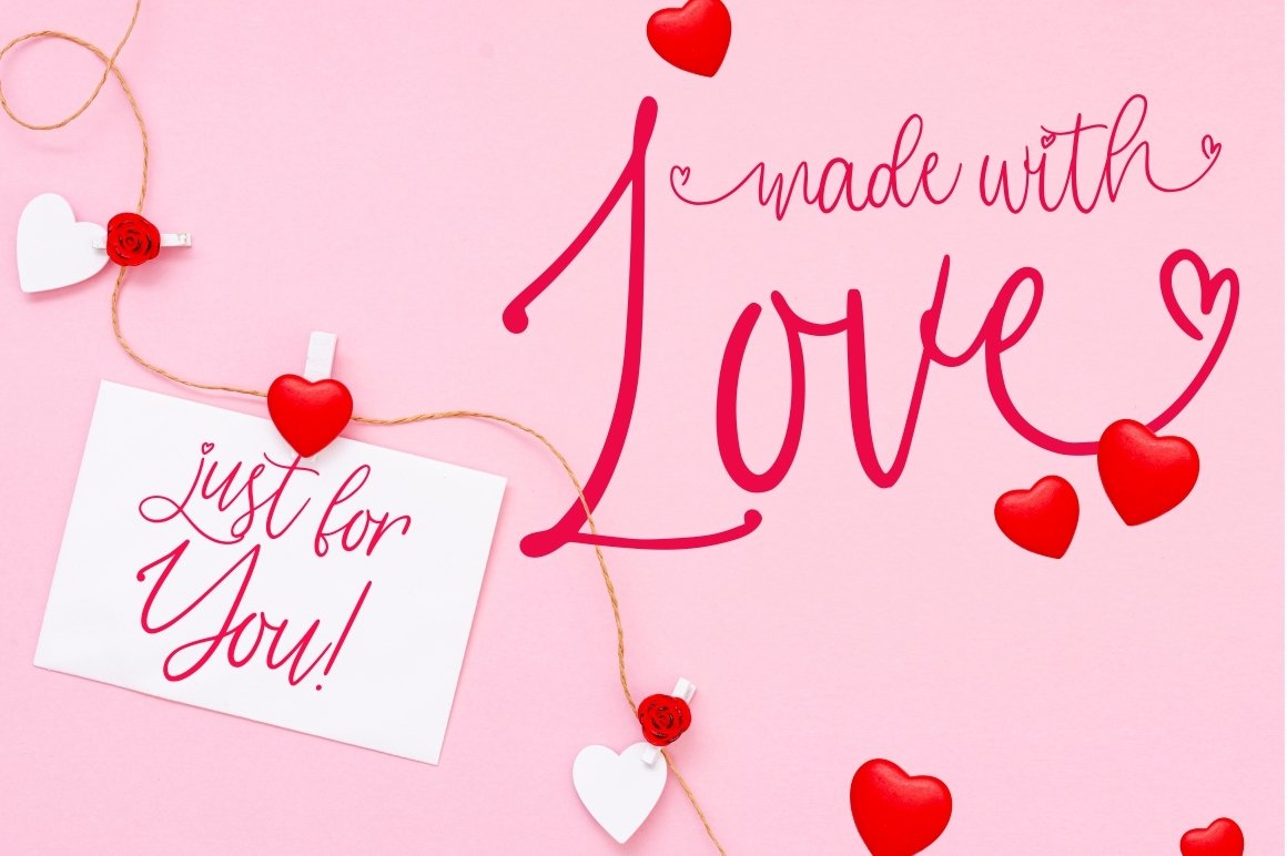 Love Tail | Lovely Font example image 4