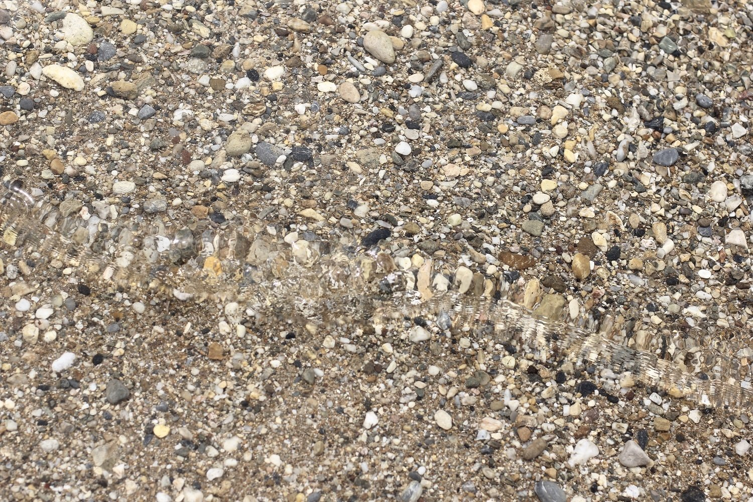 Sand and pebbles. example image 1