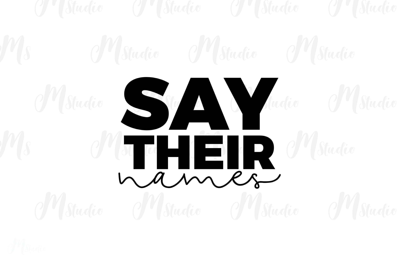 Black Lives Matter SVG Bundle example image 6