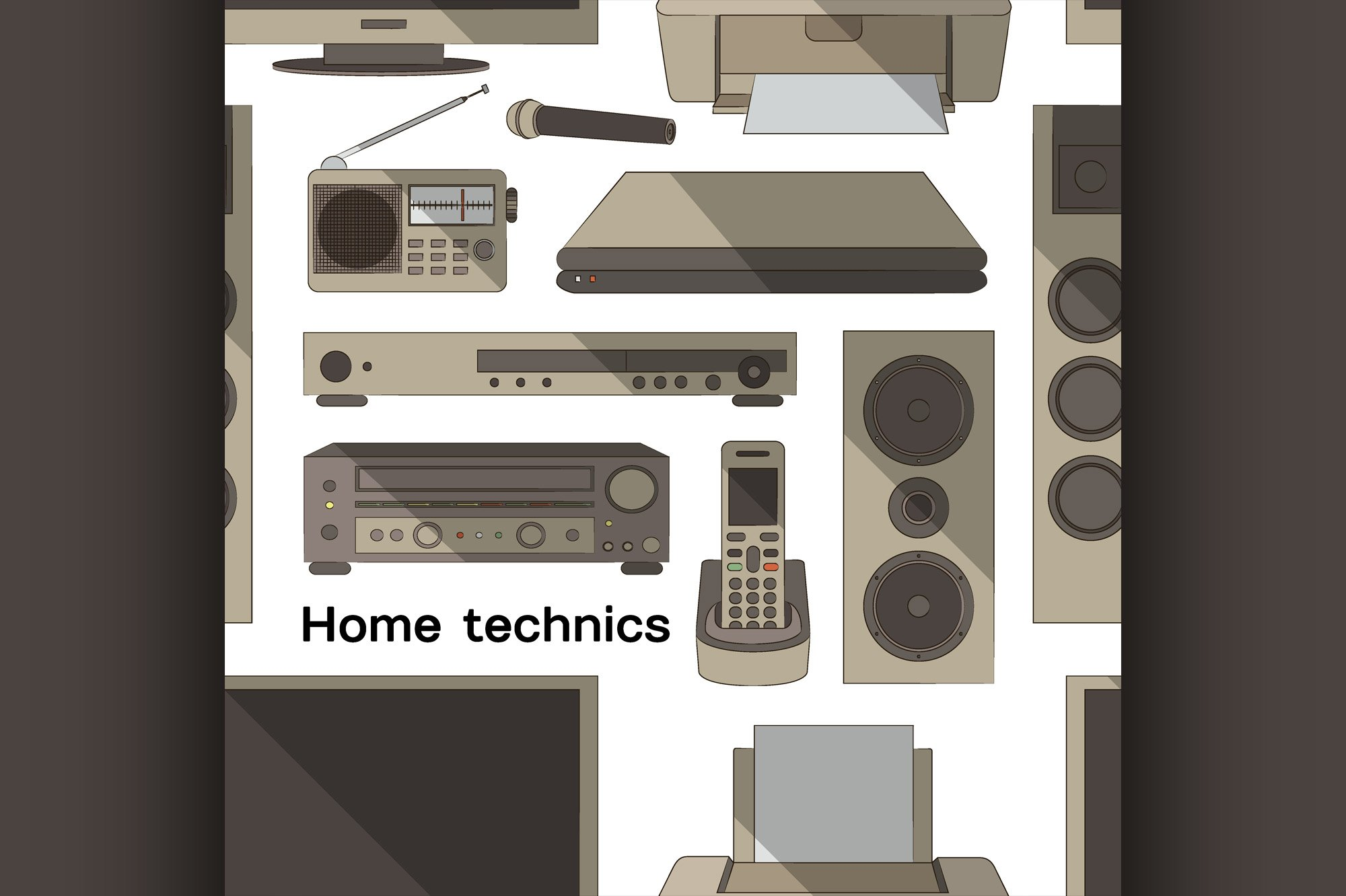 Home technics pattern example image 1