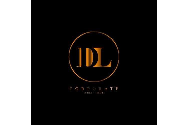 Dl Letter Logo Dl Initial Logo Corporate 1 737961 Logos Design Bundles