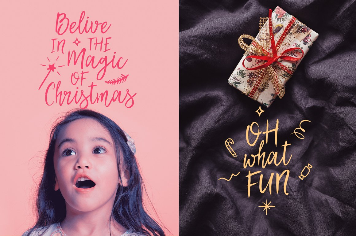 Best Christmas Font BIG UPDATE example image 2