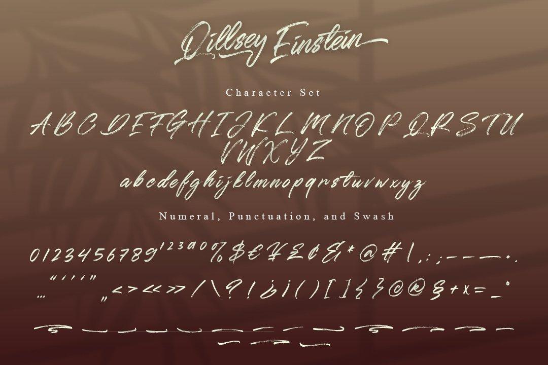 Qillsey Einstein - A Handwritten Font example image 7