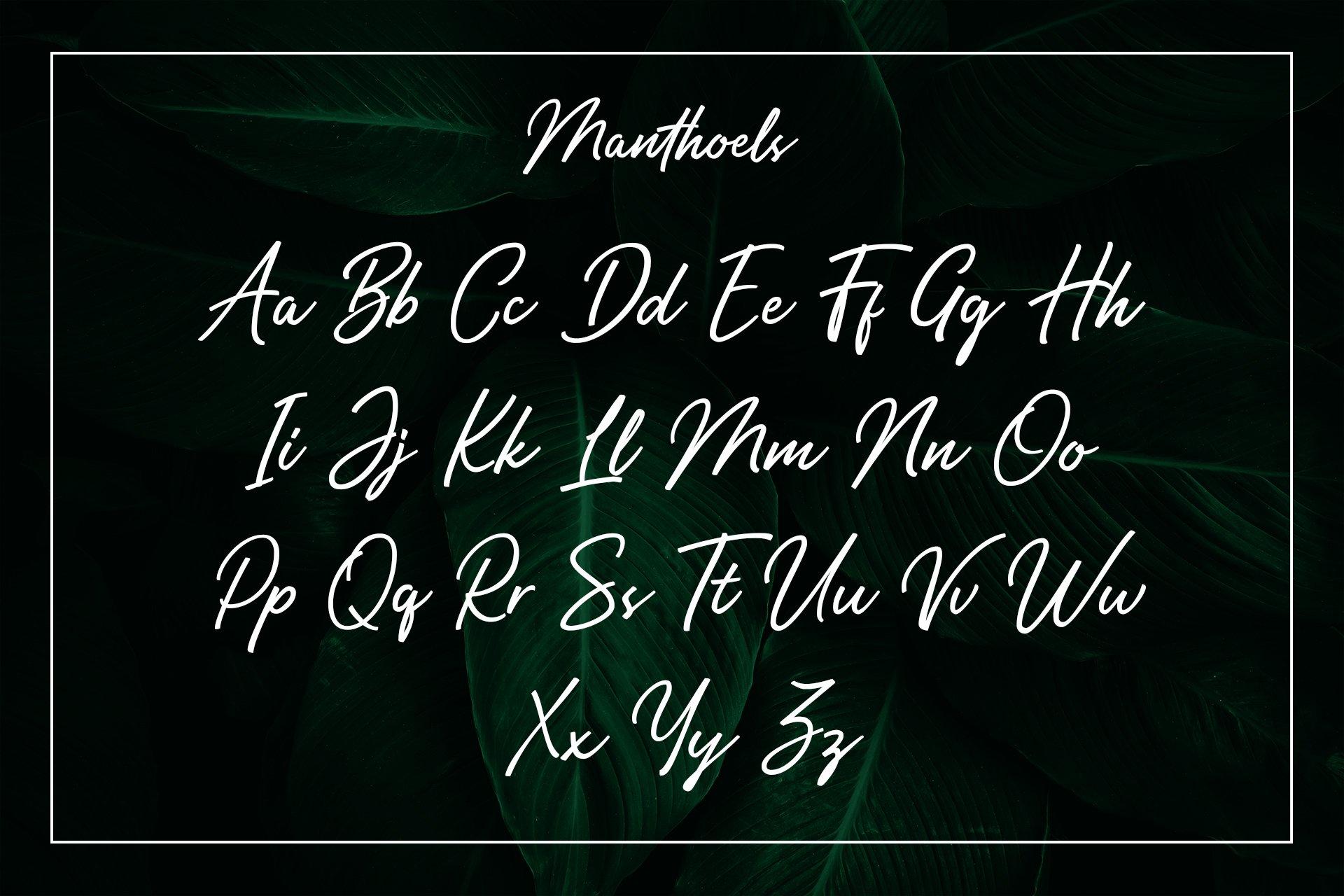 Manthoels - Stylish Signature example image 9