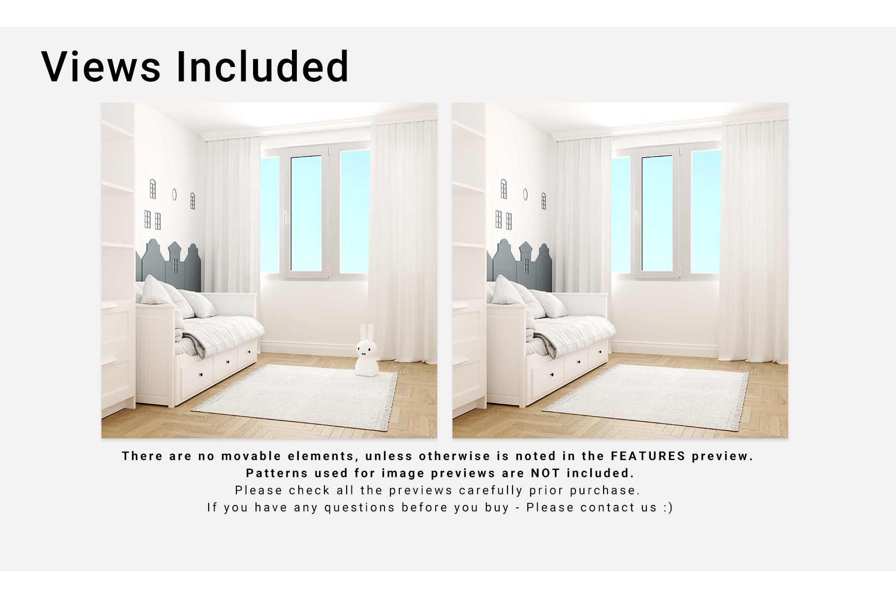 Toddlers Room Textile - Bedding, Curtains & Carpet Set example image 4