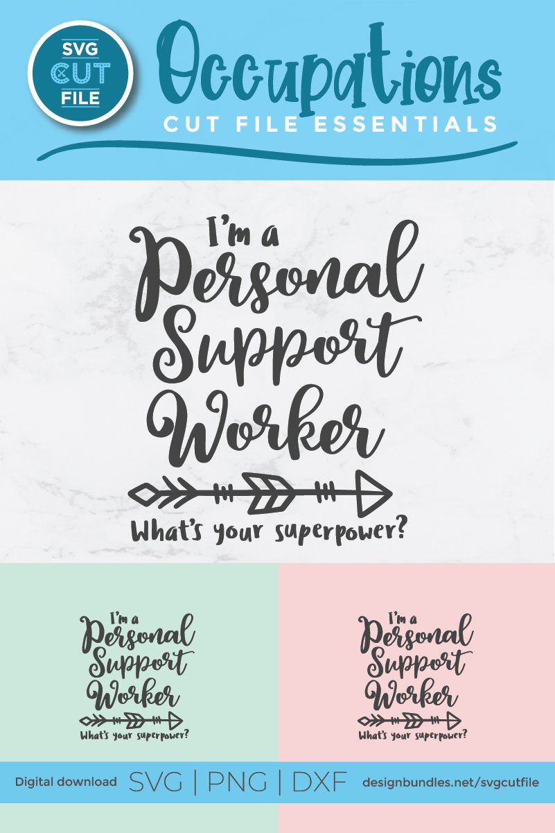 PSW superpower svg-a Personal support worker svg example image 5