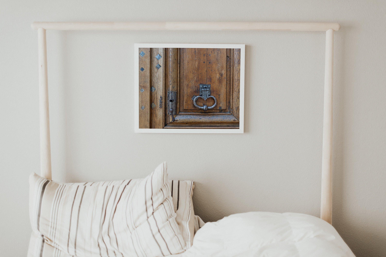 Paris door wall art set of 24 photos. Vintage wooden doors example image 5