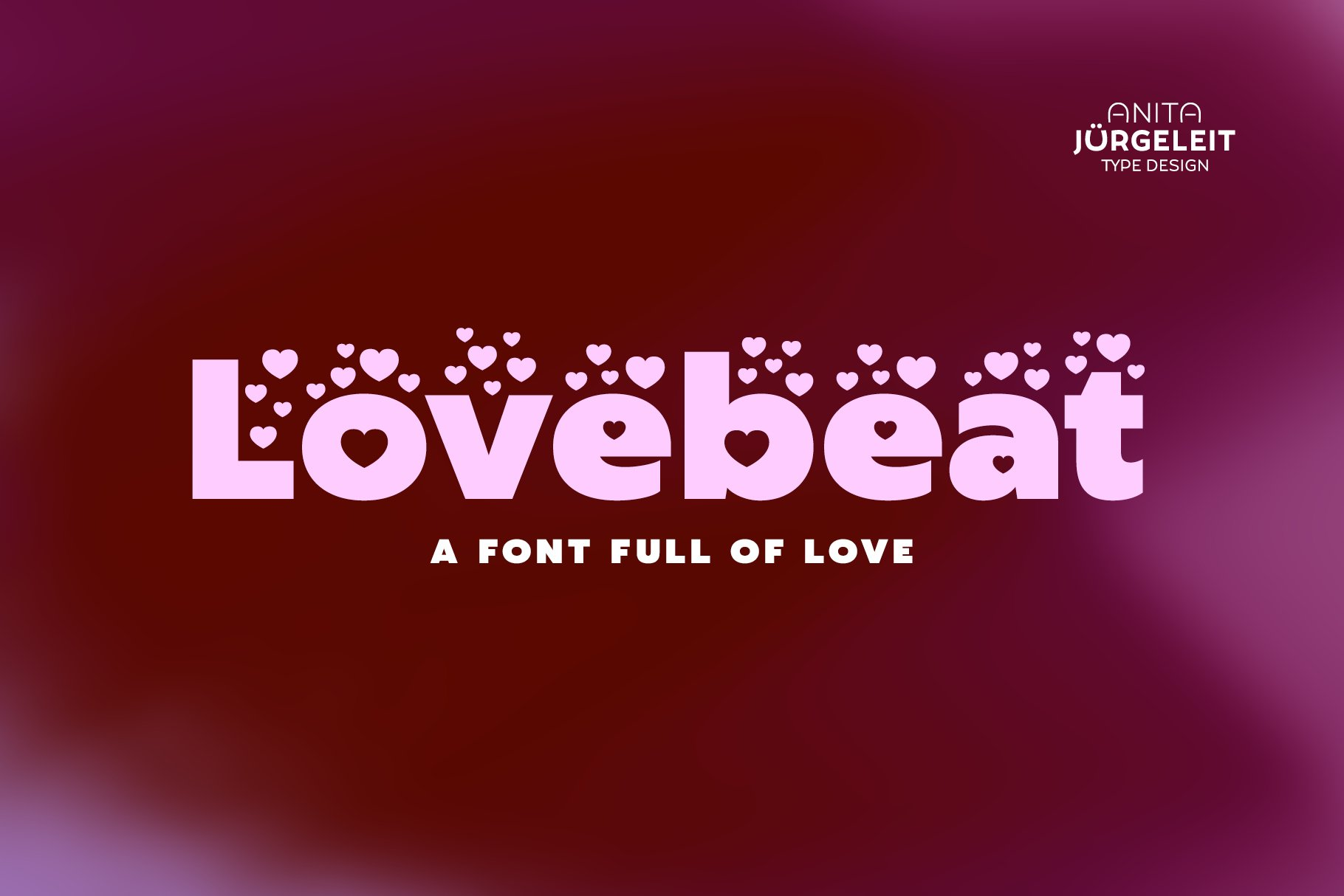 Lovebeat - Valentines Day Love Font example image 1