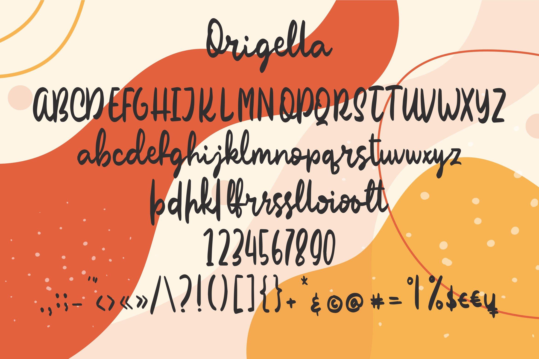 Origella - Script Handwritten Fonts example image 4