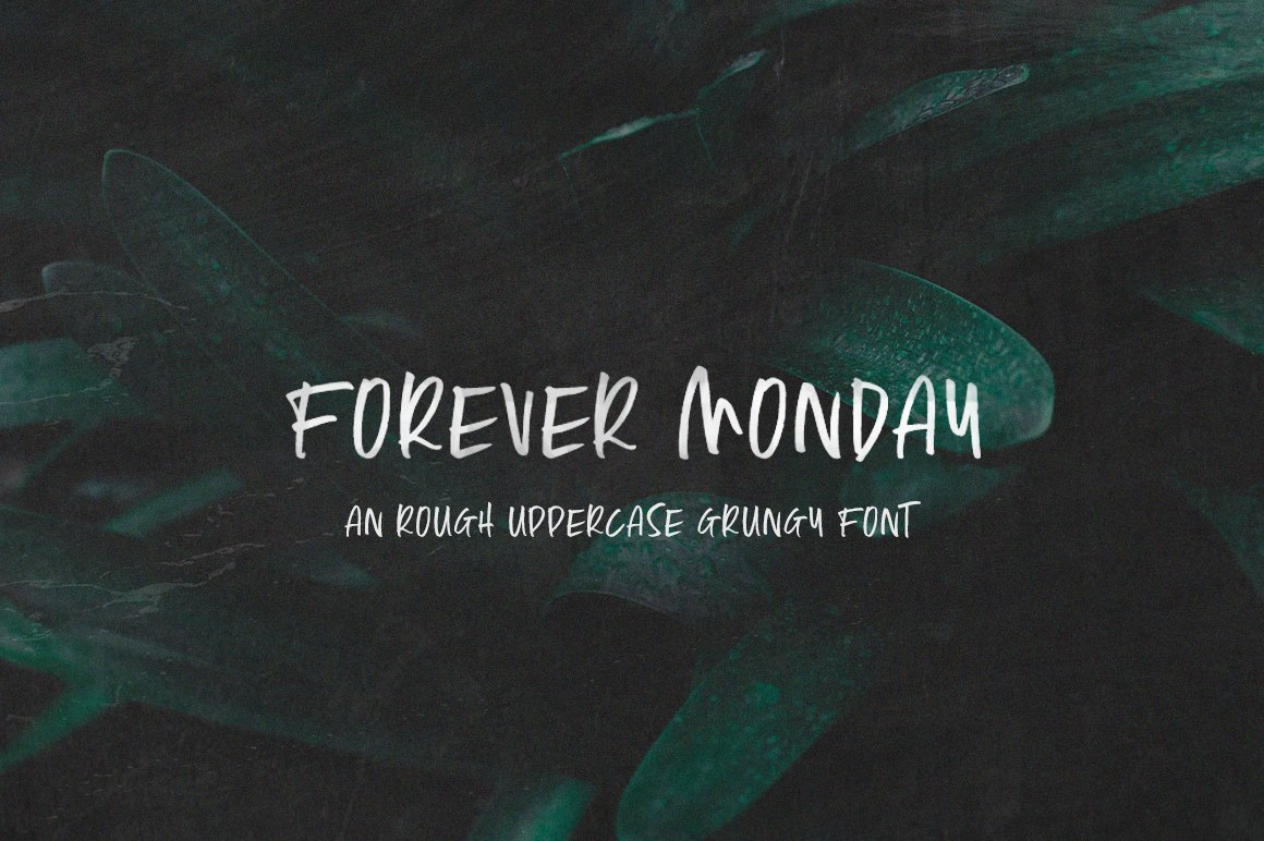 Forever Monday Font example image 1