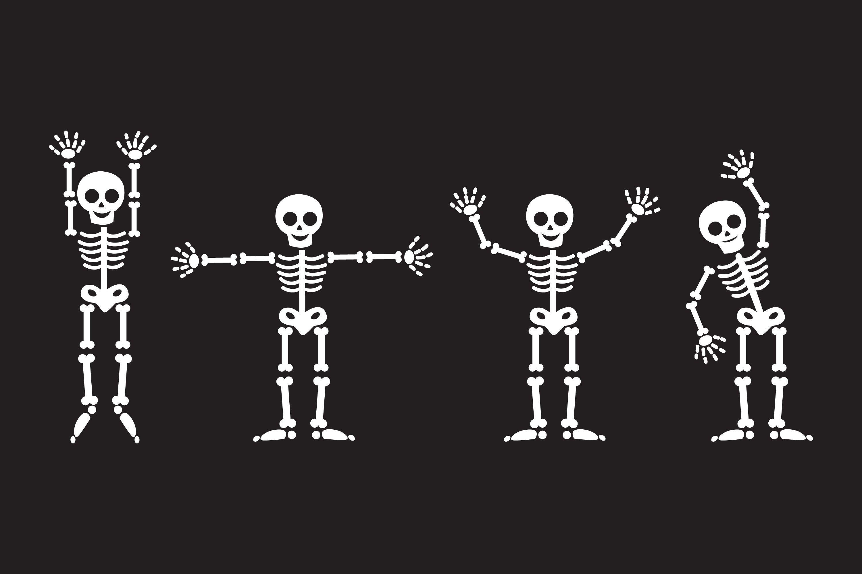 Skeleton Silhouettes example image 1