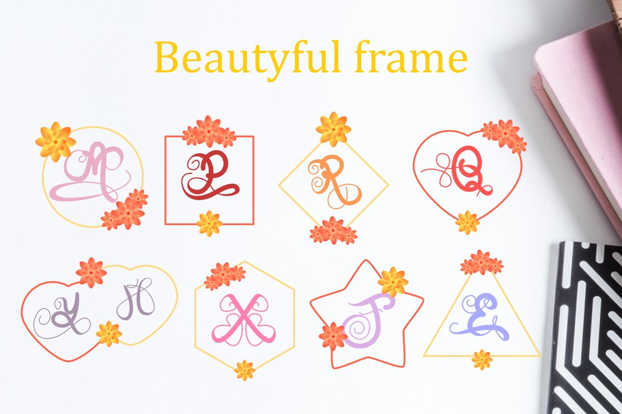 Monogram on spring example image 4