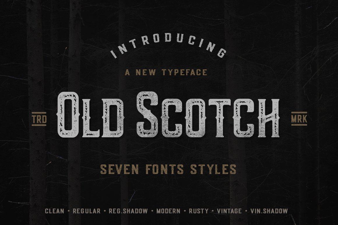 Old Scotch Typeface example image 13