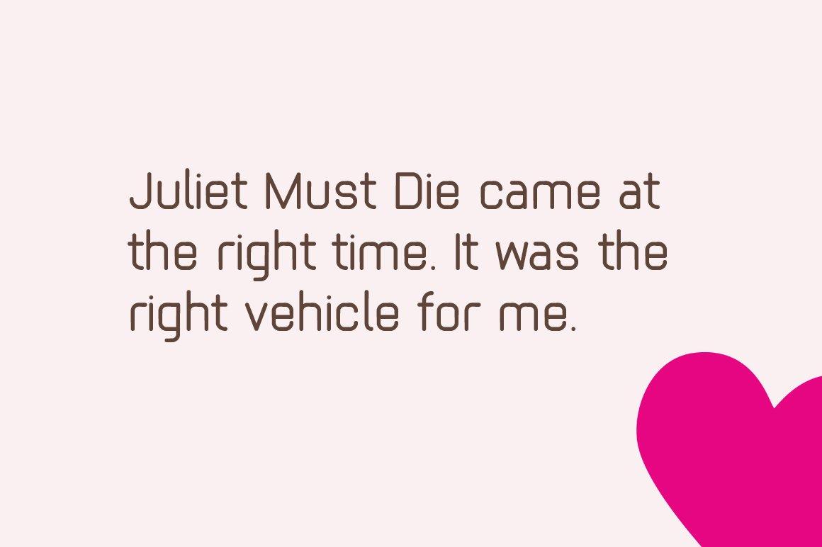 Juliet example image 2