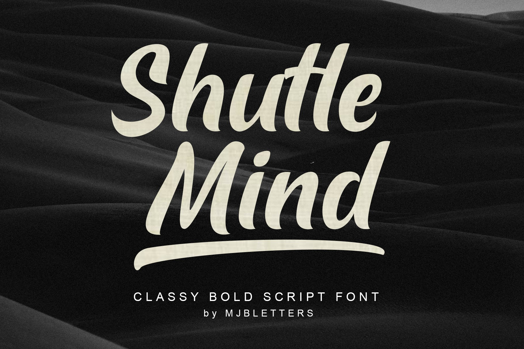 Shutle Mind - Classy Bold Script example image 14