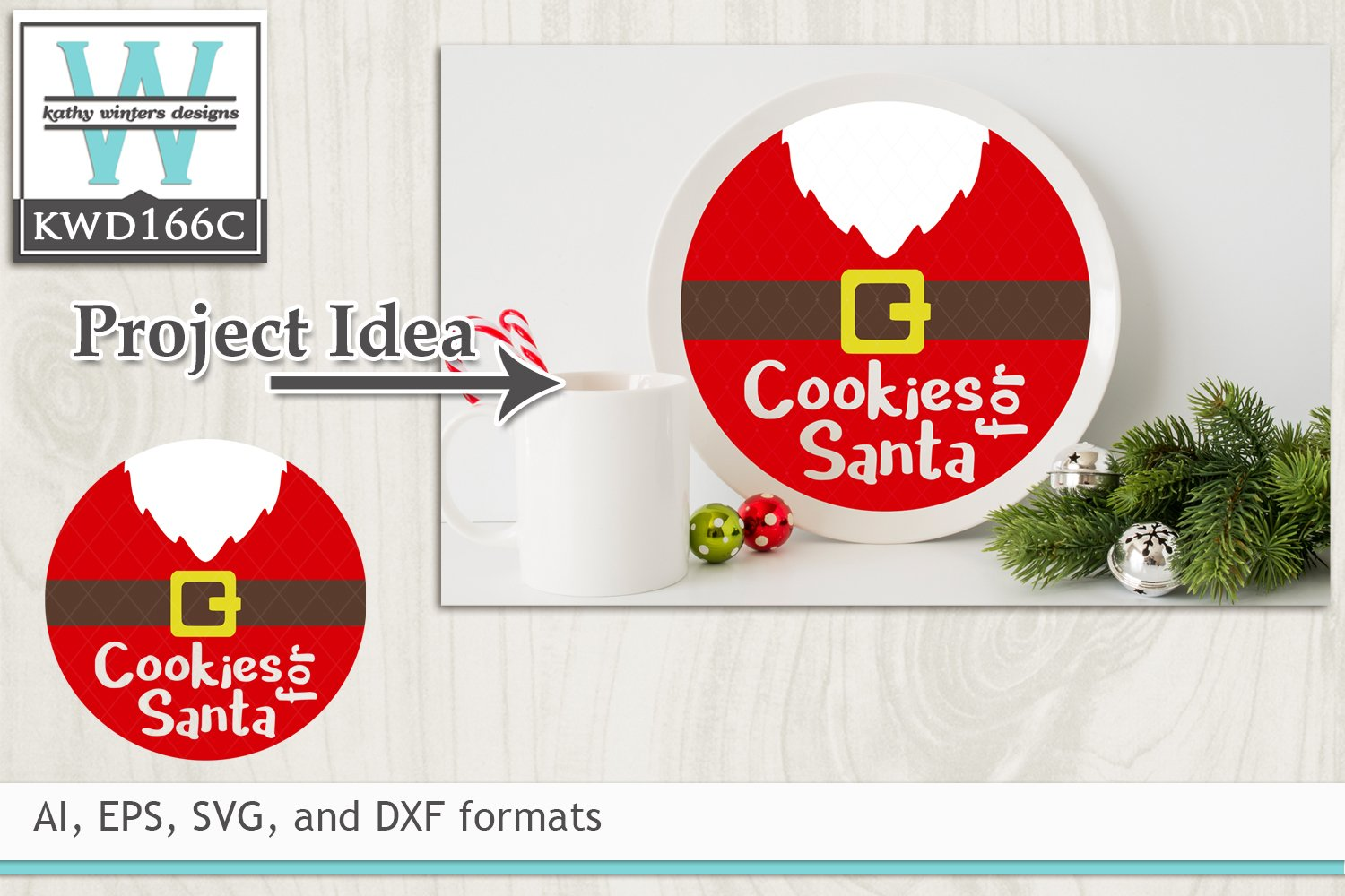 Christmas Svg Cutting File Kwd166 8977 Cut Files Design Bundles
