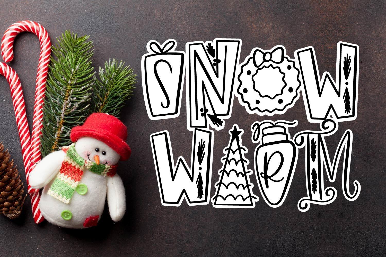 20 Christmas Fonts - A Christmas Font Bundle! example image 16