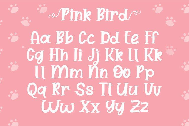 Pink Bird example image 4