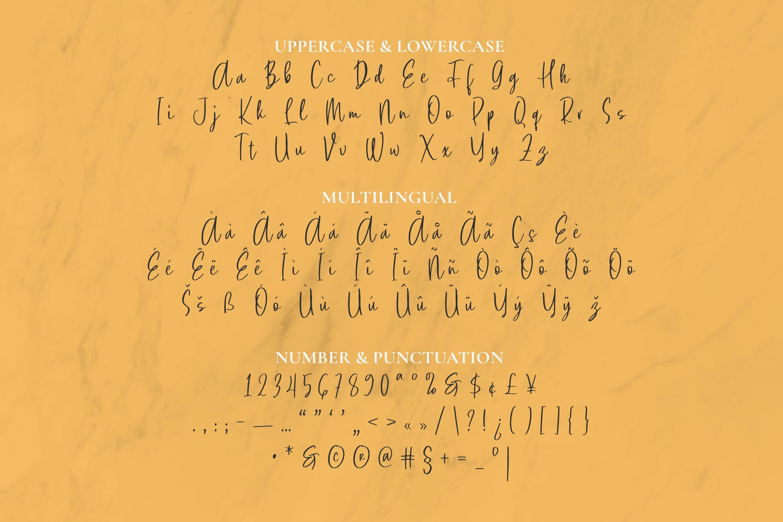 Melfons Font example image 2