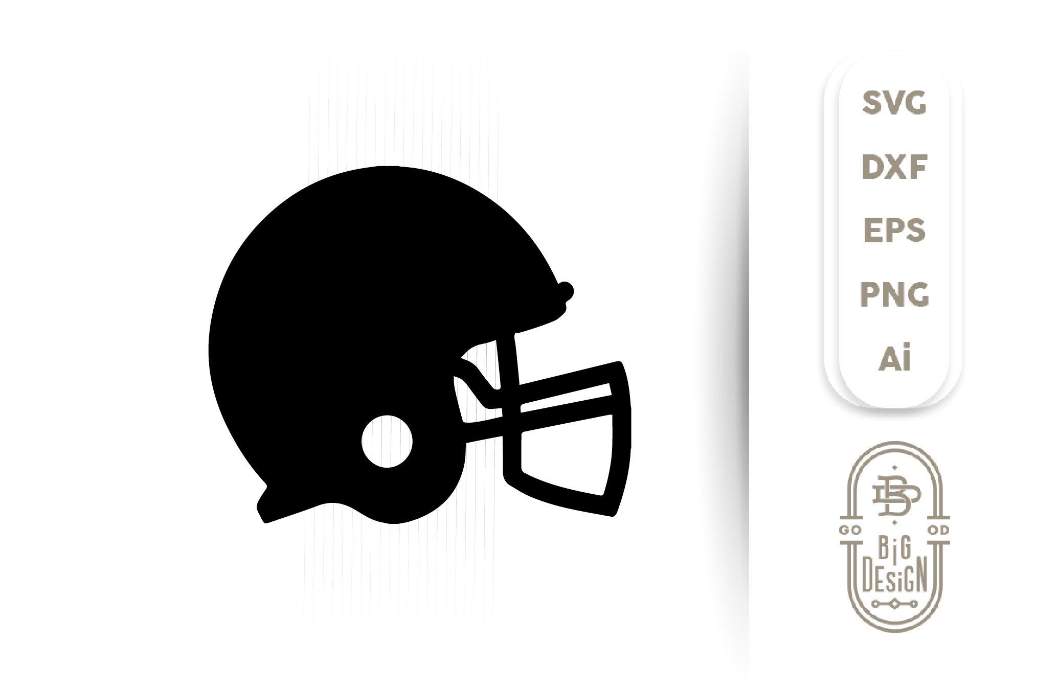 Football Helmet Svg Football Svg Helmet Silhouette 372636 Svgs Design Bundles