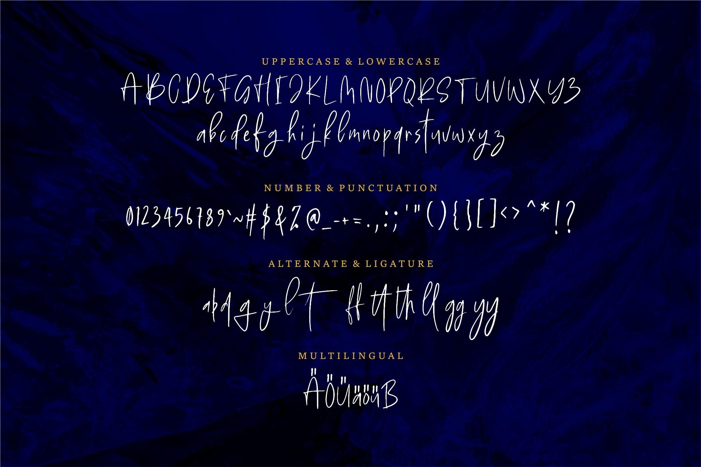 Nillie Margot - Stylish Handwritten example image 5