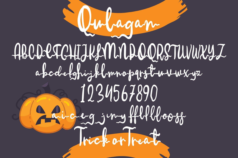 Qulagan - Hallowen Fonts example image 5