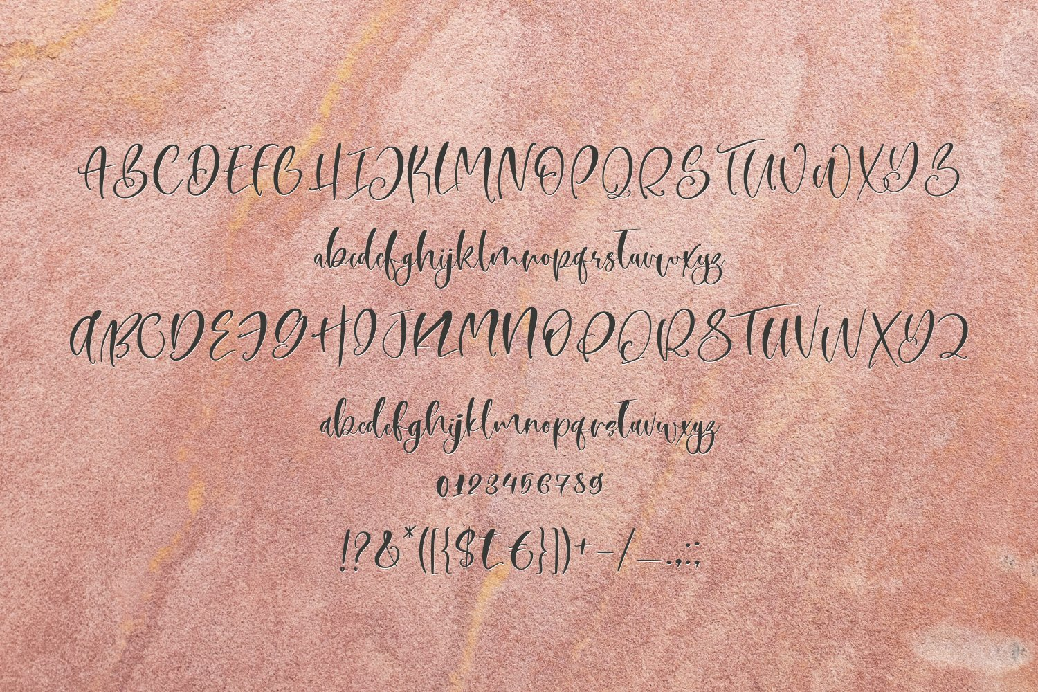 Moonsand Script Font & Doodles example image 6