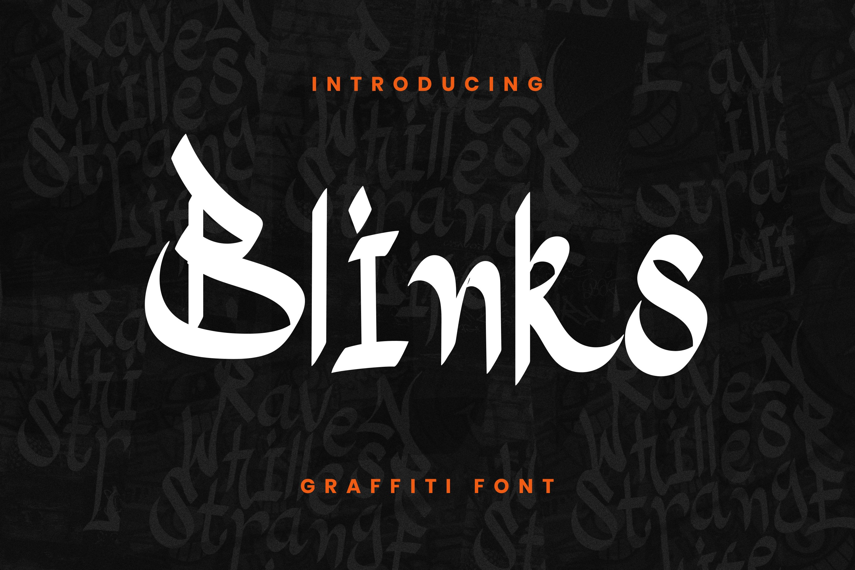 Blinks Font example image 1