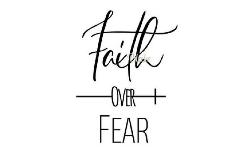 Faith Over Fear Svg Christian Svg Cut File Faith Svg Prayer Svg Png Jpg Silhouette Cameo Or Cricut Christian T Shirt Svg Faith In God Svg 104310 Svgs Design Bundles