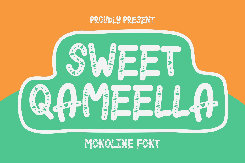 Sweet Qameella Font example image 1