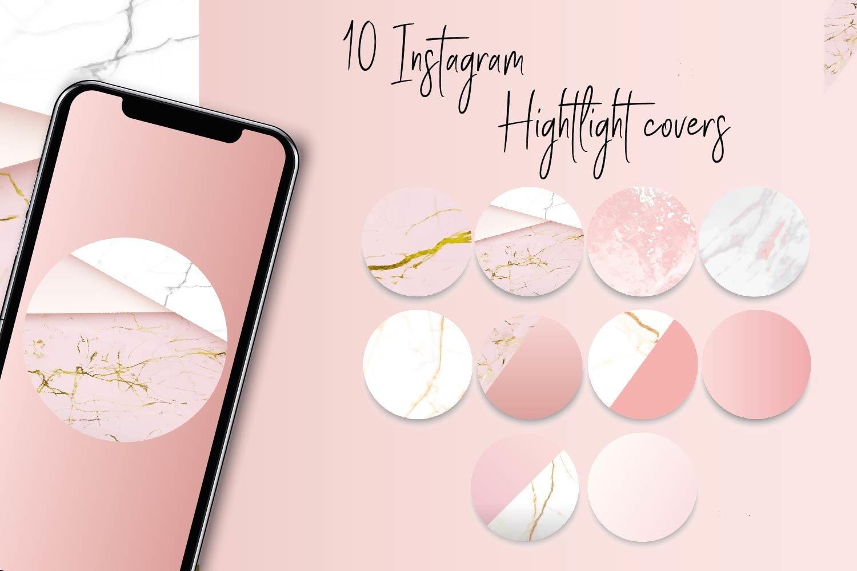 Set Of Instagram Highlight Covers 755462 Instagram Design Bundles