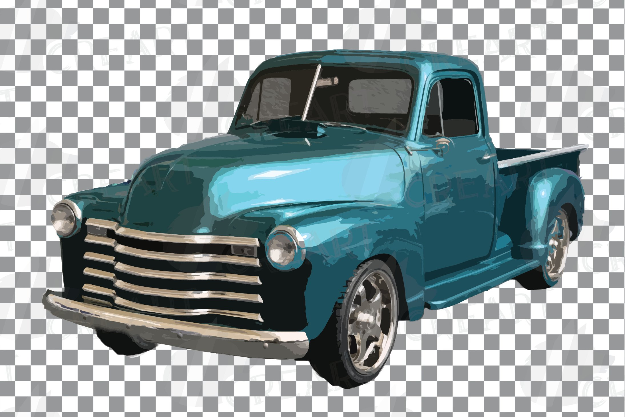 Download Vintage Cars Decor Clip Art Watercolor Classic Cars Nursery 369047 Illustrations Design Bundles