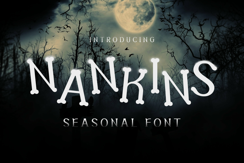 Nankins Font example image 1