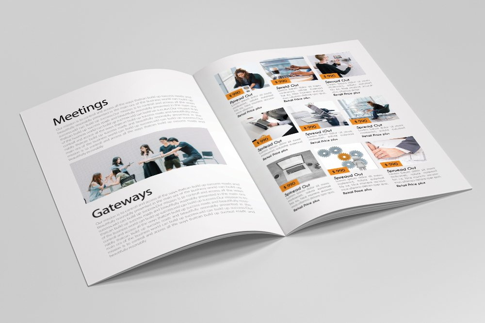 Business Catalogue Brochure 16 Pages example image 5