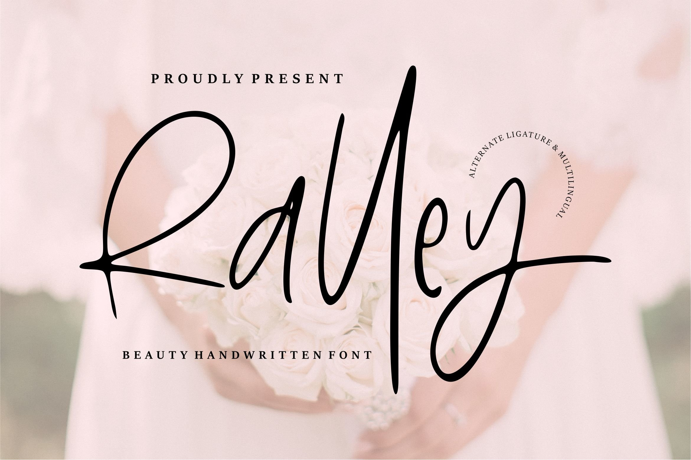 Ralley - Beauty Handwritten Font example image 1