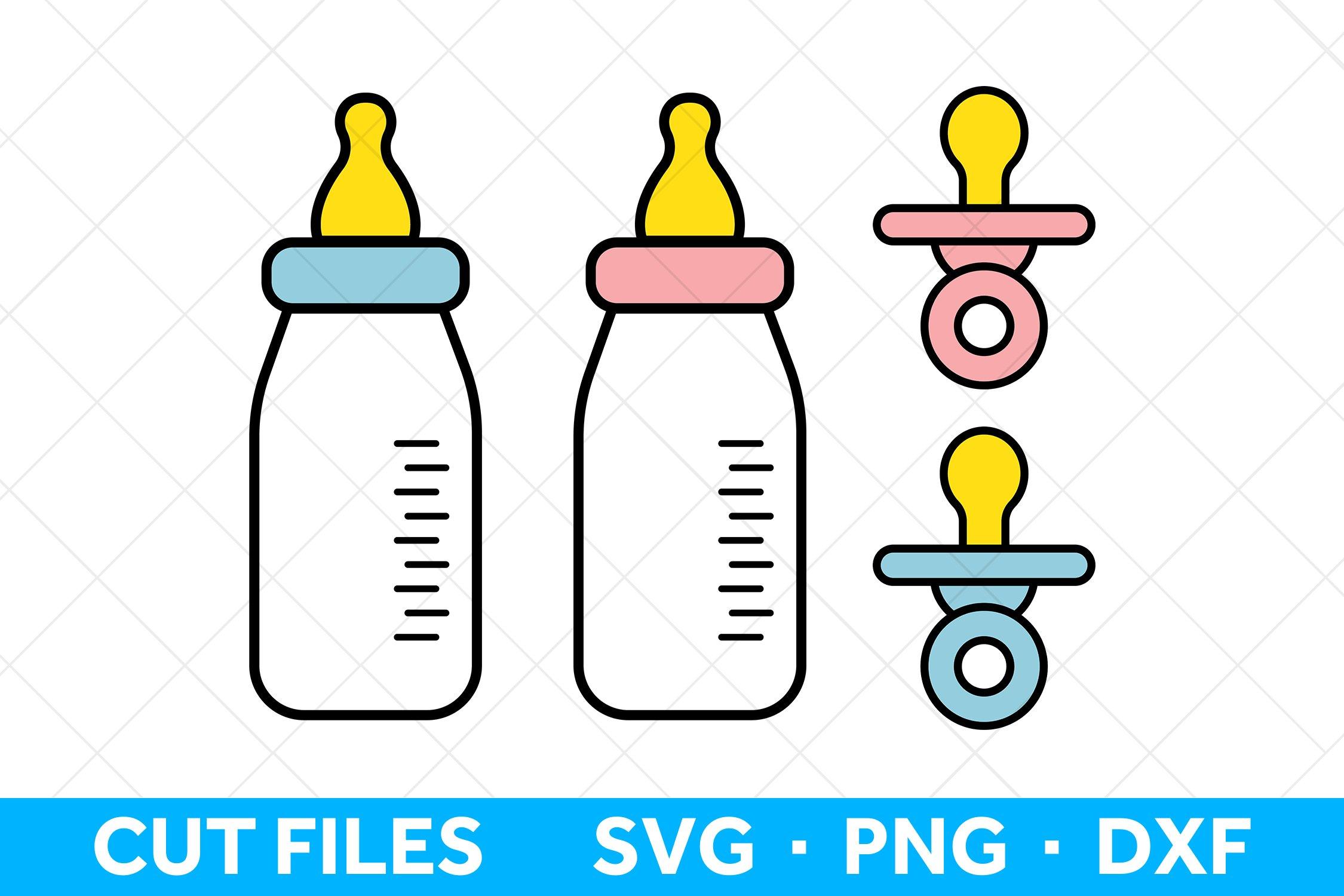 Baby Bottle Svg Files For Cricut Baby Svg Files Pacifier 927709 Cut Files Design Bundles