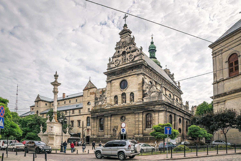 Bernardine Church and Monastery in Lviv, Ukraine example image 1