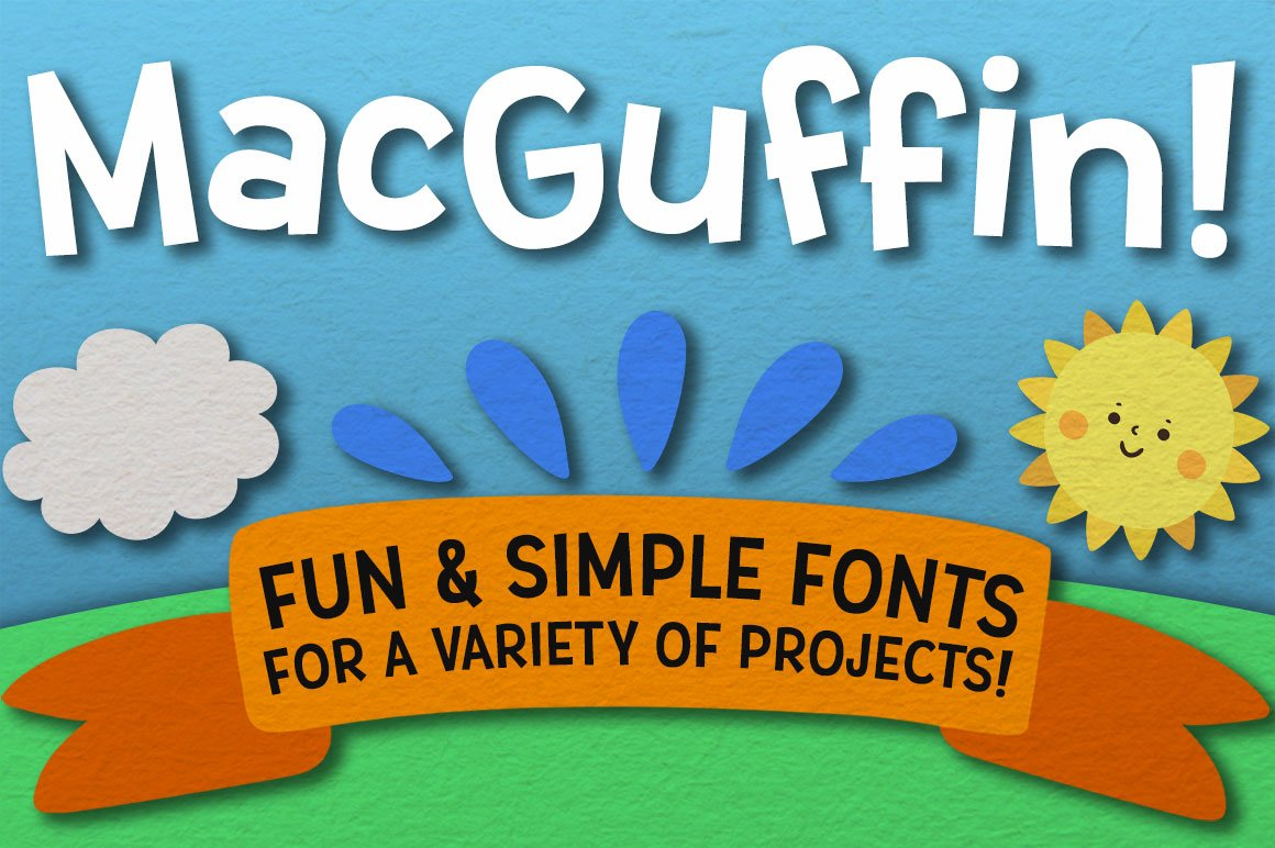 The Newbie Crafter Font Bundle - 8 fun & smooth families! example image 12