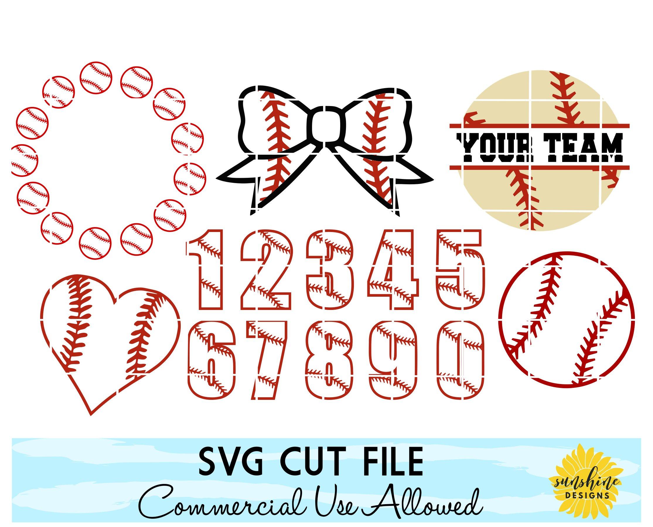 Download Baseball Svg Baseball Monogram Svg Baseball Numbers Baseball Heart Baseball Bow 87301 Svgs Design Bundles