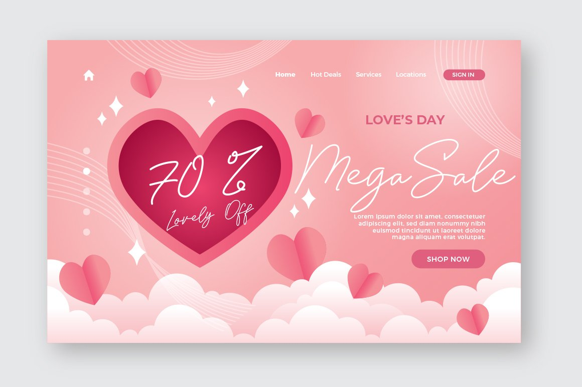 Lovely Love - Font with Swash example image 7
