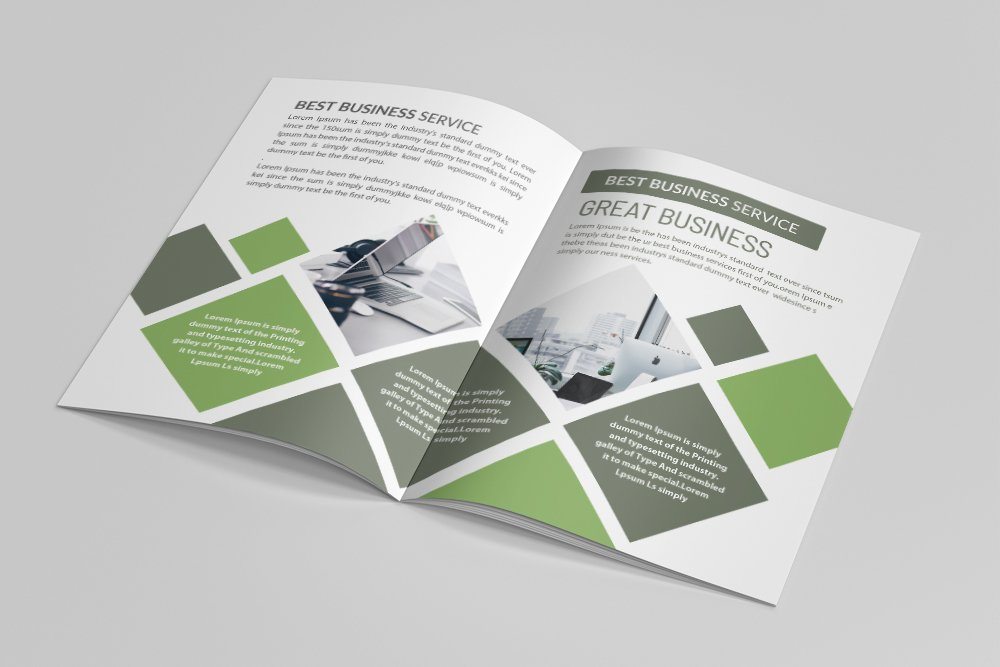 Business Annual Report Brochure 16 Pages example image 9