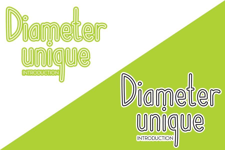 Diameter unique example image 5