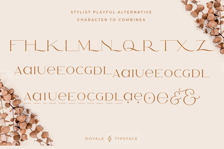 Royale Luxurious Typeface example image 12