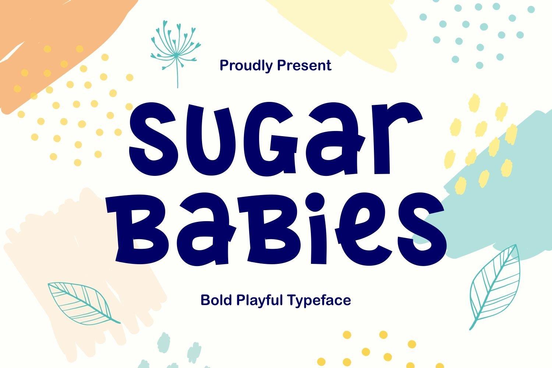 Sugar Babies - Playful Sans Serif Display example image 1