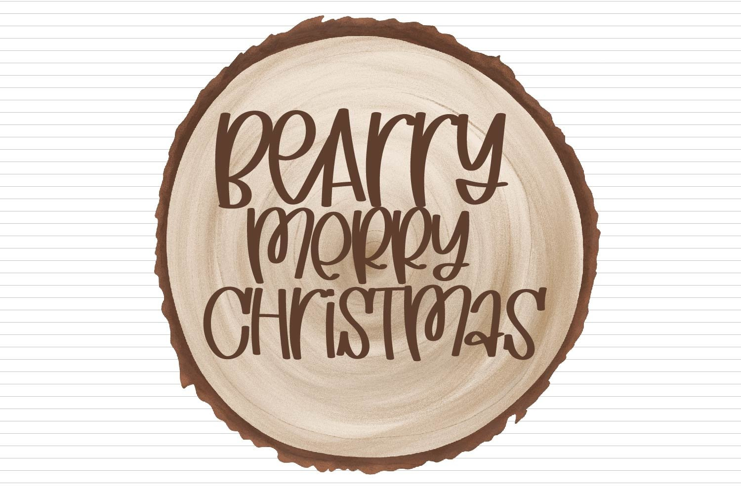 Christmas Wish List - A Hand Lettered Font With Ligatures! example image 4