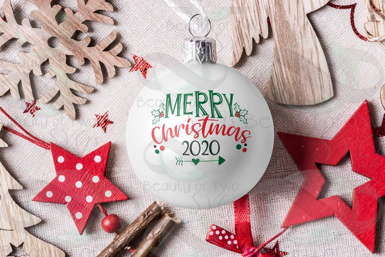 Merry Christmas 2020 Svg Merry Christmas 2020 Ornament svg, Christmas svg, Ornament (368776