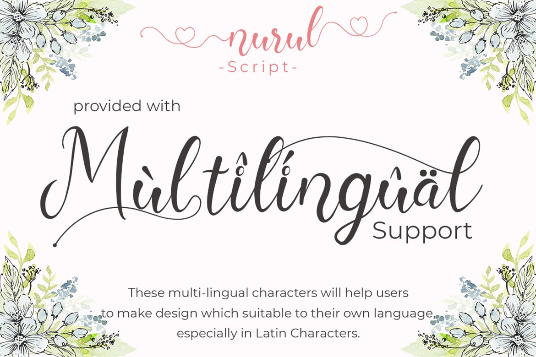 Nurul Script   A Calligraphy Font example image 10