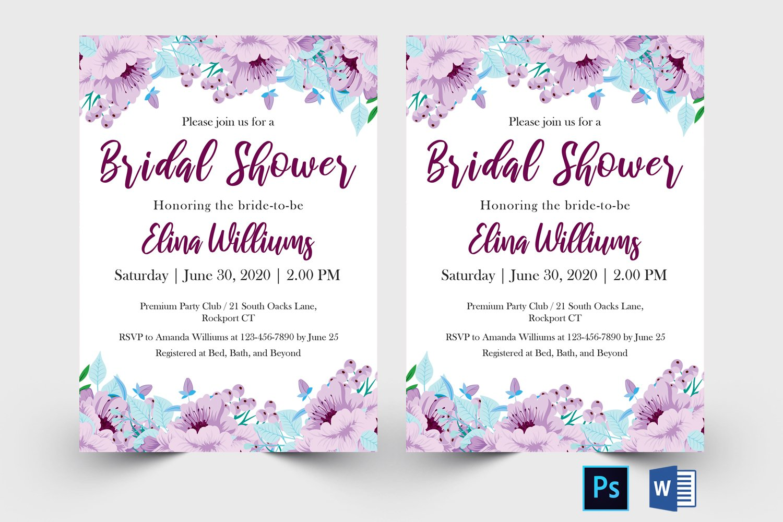 Bridal Shower Invitation example image 2